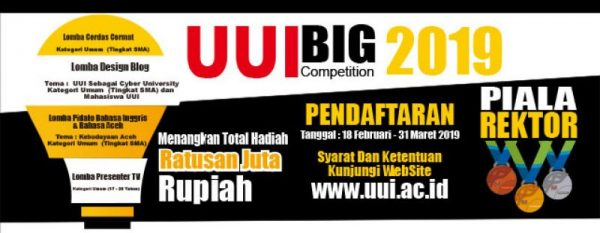 Piala Rektor Universitas Ubudiyah Indonesia 2019