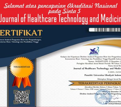 UUI Raih Akreditasi Nasional Journal Of Healthcare technology and Medicine