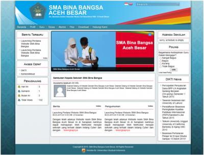 Ubudiyah Bangun Website Gratis Untuk SMA Se- Aceh