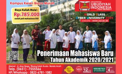 Brosur Promosi UUI 2020
